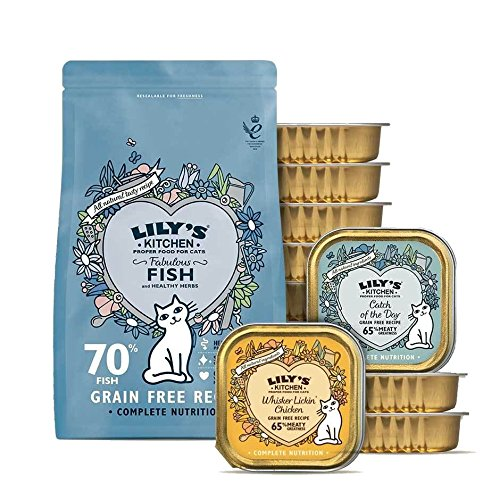 Lily's Kitchen Healthy Weight Pack for Cats (Medium) (PACK OF 2)