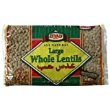 All Natural Whole Lentil Dry Beans by Ziyad