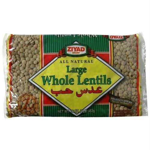 All Natural Whole Lentil Dry Beans by Ziyad by Ziyad