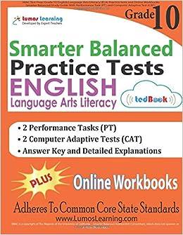 SBAC Test Prep: Grade 10 English Language Arts Literacy (ELA