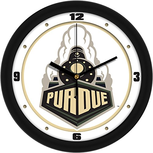SunTime NCAA Purdue Boilermakers Traditional Wall Clock ()