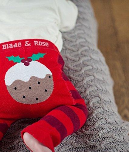 Blade /& Rose Christmas Pudding leggings