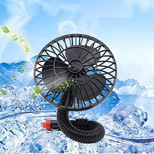 Yanyangqing Mini Ventilador de 4 Pulgadas 12 V Mini Ventilador de ...