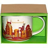 Starbucks YOU ARE HERE collection Nashville 14-oz Coffee Mug 2013 by Emology