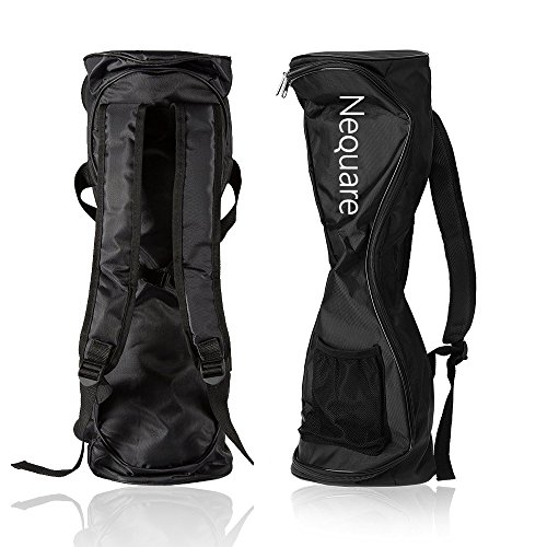 Nequare Waterproof Hover Board Bag Carrying Backpack Fashion Durable Handbag for 6.5'' 7'' and 8'' Two Wheels Self Balancing Scooters with Adjustable Shoulder Straps Storage Mesh Pocket by Nequare