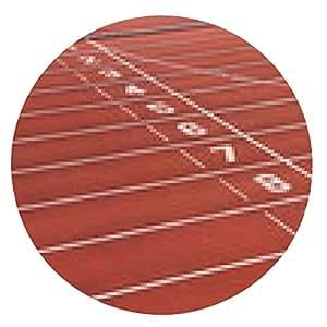 alfombrilla de ratón Pista de carreras - ronda - 20cm