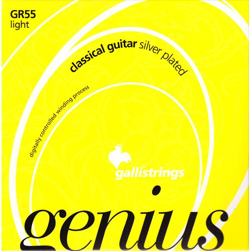 Galli GR55 Classic GENIUS CRYSTAL PROcoated Set, Light Tension