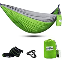 Mersuii Double Camping Hammock with Tree Straps (Several Colors)