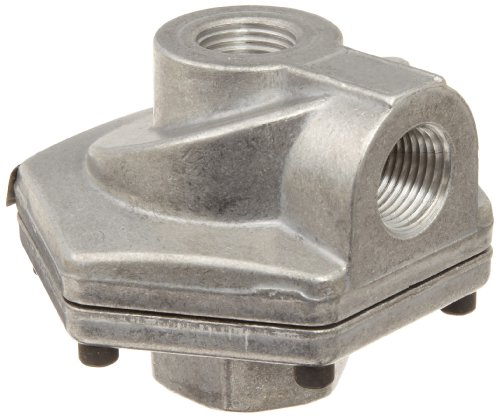 Parker 0R50VB Die Cast Aluminum Quick Exhaust Valve with Fluorocarbon Static Seal, 1/2