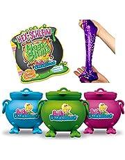 CRAZE Magic SLIME Bibi Blocksberg magisch speelgoed slijm incl. speelfiguur kinderslijm in ketel 150 ml 17586