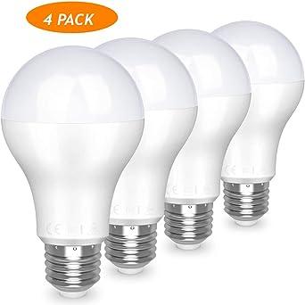 Awenia Bombilla LED Esférica E27 20W (Equivalente a 150W), Luz LED ...