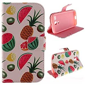 The Butterfly Pattern PU Leather Full Body Case with Stand and Slot for LG L70