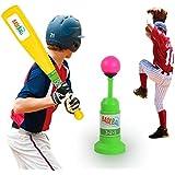 Boyiya Pop Up Batting Practice Baseball Throwing Machine Swing Coach Softball Press Do