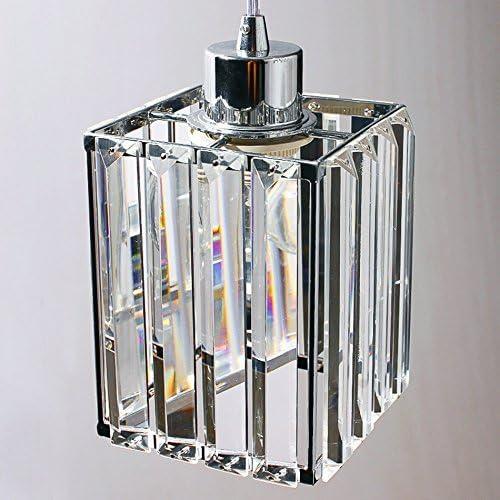 GJNVBDZSF DREI Kristallleuchter, Restaurantleuchten, Kronleuchter nach dem modernen einfachen Modetisch Kristalllampenbeleuchtungskörper