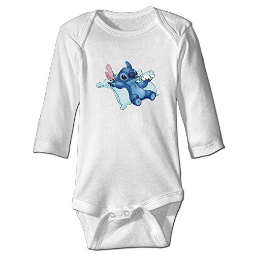 Lilo Stitch Cute Baby Design Funny Logo Bodysuits Funny Neutral Baby Onesie Boys Girls