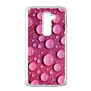 Pink clear droplet Phone Case for LG G2