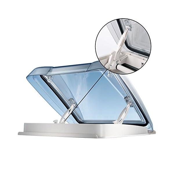 51Mbp3Xo7ZL MPK Dachfenster Vision Star M pro klar 40x40 cm Dachstärke 25-60 mm 48P + Deklain Dichtmittel