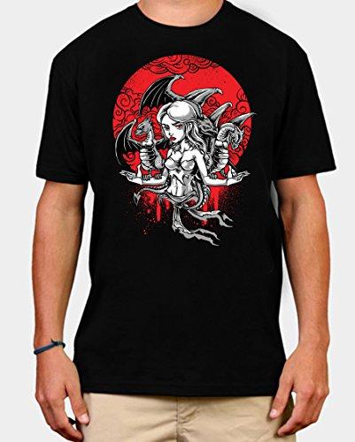 Khaleesi Game of Thrones TV Show Mens T-shirt (XL)