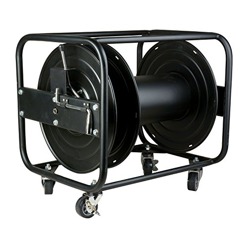 (TecNec JackReel XL1 | High Capacity Heavy Duty Broadcast Fiber Optic Cable Reel)