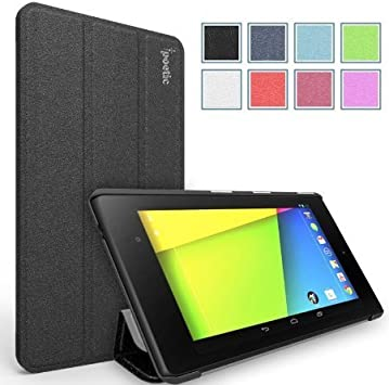 Amazon Com Google Nexus 7 2013 Case Poetic Google Nexus 7 2013 Case Slimline Series Lightweight Ultra Slim Pu Leather Slim Fit Trifold Cover Stand Folio Case For Google Nexus 7 2nd Gen