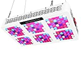SKYGROWPARD 900W LED Grow Lights Timer Control AC ON/OFF 12-band Full Spectrum Plant Growing Light with UV/IR for Veg and Flower For Sale