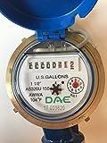 """DAE AS320U-150P 1-1/2"""" Water Meter with Pulse"""