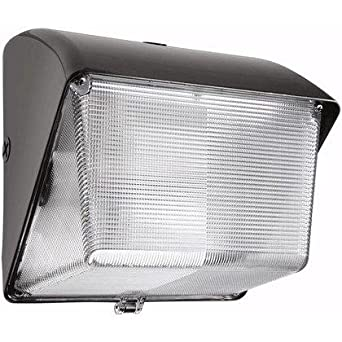 RAB Lighting WP1H70 WP1 Metal Halide Lamp Compact Wallpack With Lexan Lens,  ED17 Type,
