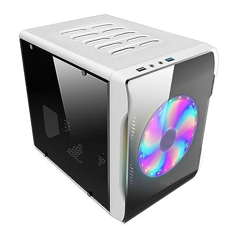 Gzs Caja de la computadora del Juego Transparente Jugador Bastidor ...