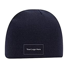 Acrylic Knit 8″ Beanie 144 Qty |8.54 Each |Customization Product Imprinted & Personalized Bulk with Your Custom Logo