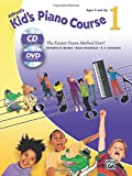 Alfred's Kid's Piano Course, Bk 1: The Easiest Piano Method Ever! (Book, CD & DVD)