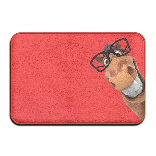 Texhood-Home Decoration Custom Cute Donkey Doormats Bedroom Cushion Carpet Bathroom (Shrek The Third Donkey Costumes)