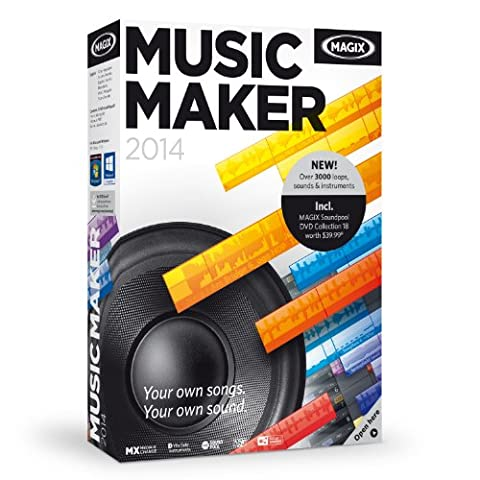Music Maker 2014 (Magix Studio Software)