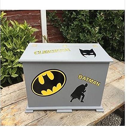 Diseño de Batman personalizado de los niños caja de juguetes/pecho ...