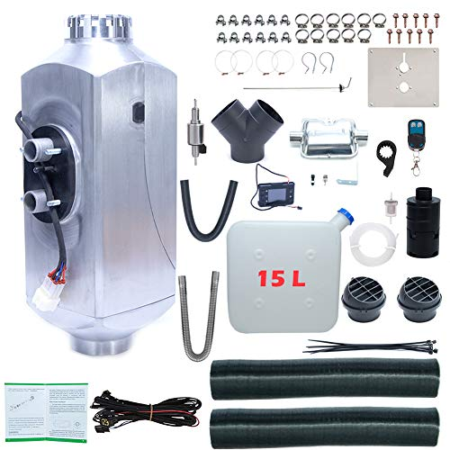 ShuYu Diesel Parking Heater Diesel Air Heater 5KW 12V 15L Tank for Truck,Boat,Car Trailer,Touring car,Campervans,Motorhomes,Caravans
