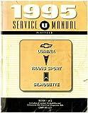GMP95-U-1 1995 Chevrolet Lumina Pontiac Trans Sport Oldsmobile Silhouette Service Manual Book 1 of 2 Used