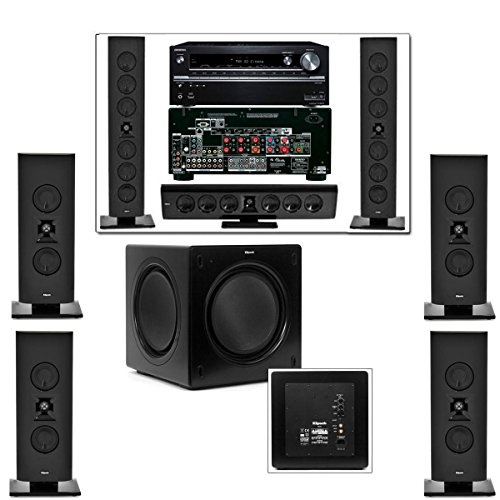 Klipsch Gallery G-28 7.1 Home Theater-SW-310-Onkyo TX-NR838