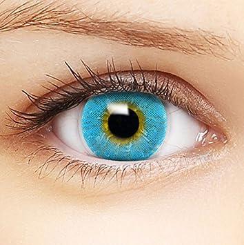 Kontaktlinse hinters auge gerutscht