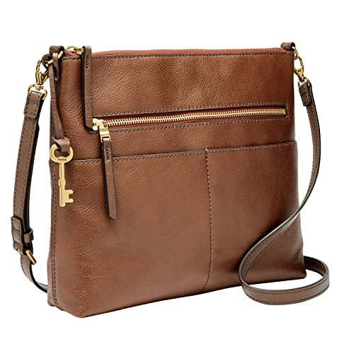 Fossil Fiona Crossbody Brown