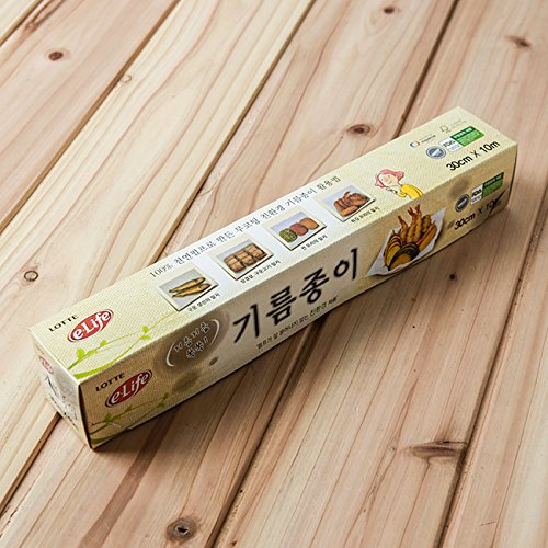 Lotte e-life Eco-Friendly Natural Pulp Parchment Steamer Liners/Steaming Papers