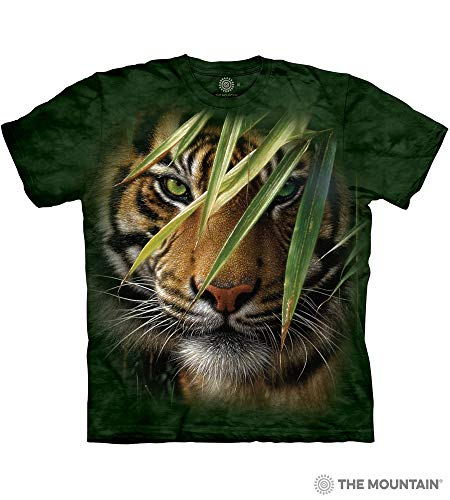 (The Mountain Adult Unisex T-Shirt - Emerald Forest M)