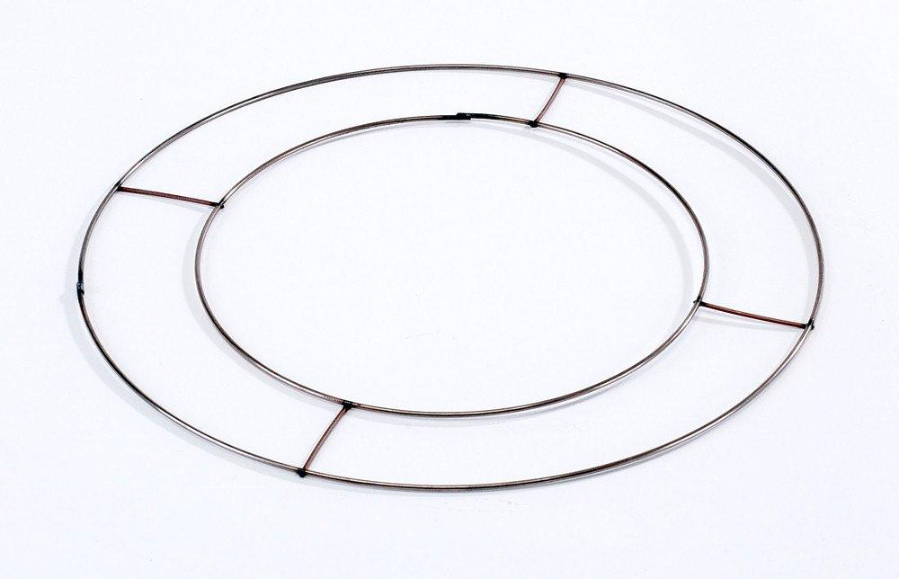 40 x 20, 32 cm a filo piatto rame anelli di telai di agrifoglio onoranze OASIS Smithers Oasis