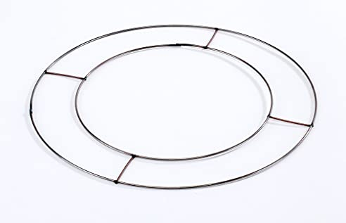 5 X Flache Draht Ringe 31cm Durchmesser