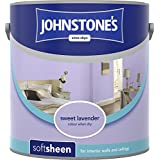 Johnstones 304166 2.5 Litre Soft Sheen Emulsion Paint - Sweet Lavender by Johnstones