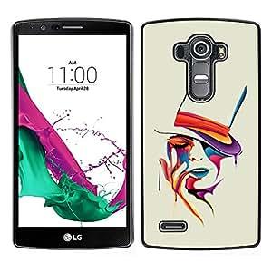 """For LG G4 , S-type Colorido del arte del retrato"""" - Arte & diseño plástico duro Fundas Cover Cubre Hard Case Cover"""