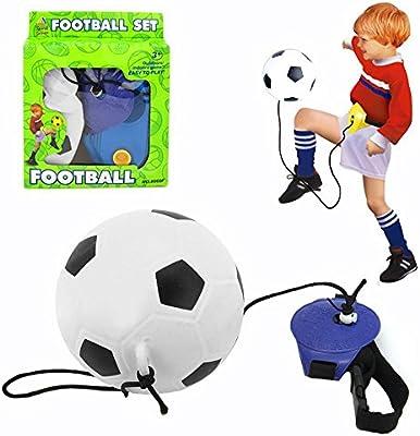 bblike Kick Trainer y balón de fútbol bomba – Los niños práctica ...