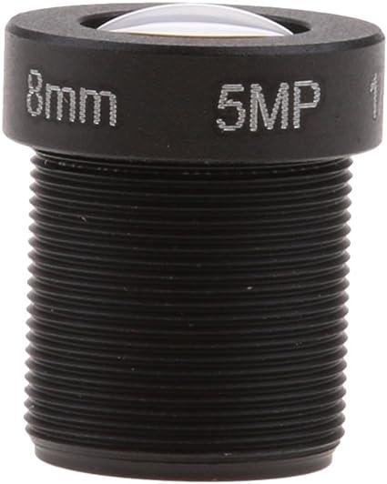 "1 2.5 /""hd 5mp 8mm 48 gradi angolo ir lente cctv m12 per telecamera ip"