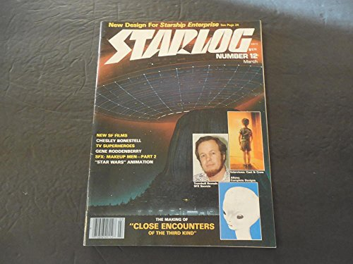 Close Encounter Alien Glasses (Starlog #12 Mar 1978 Close Encounters; Aliens; Roddenberry; Star Wars)