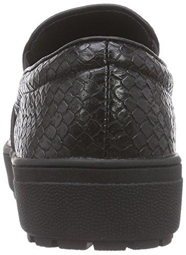 1301 Lack Black schwarz Halbschuh Ballerine Strada Schwarzer Donna Patent La Nero xFES8q8