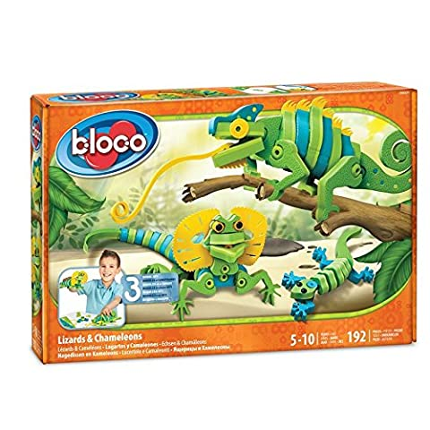 Style Me Up! Bloco Generic Lizards & Chameleons Kids Art Craft - Bloco Lizards