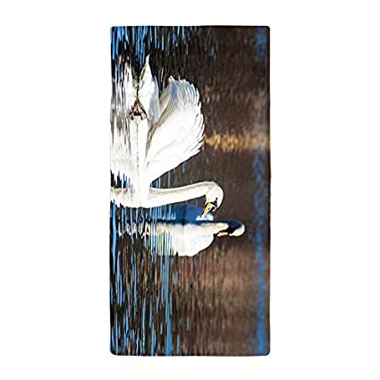 tamengi hermoso cisne cena absorbente toalla toalla de baño toalla de playa de microfibra
